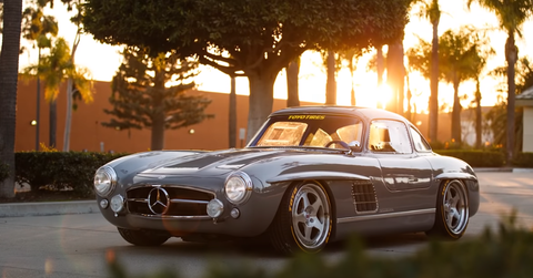 is it real or is it fiberglass gullwing knows for sure