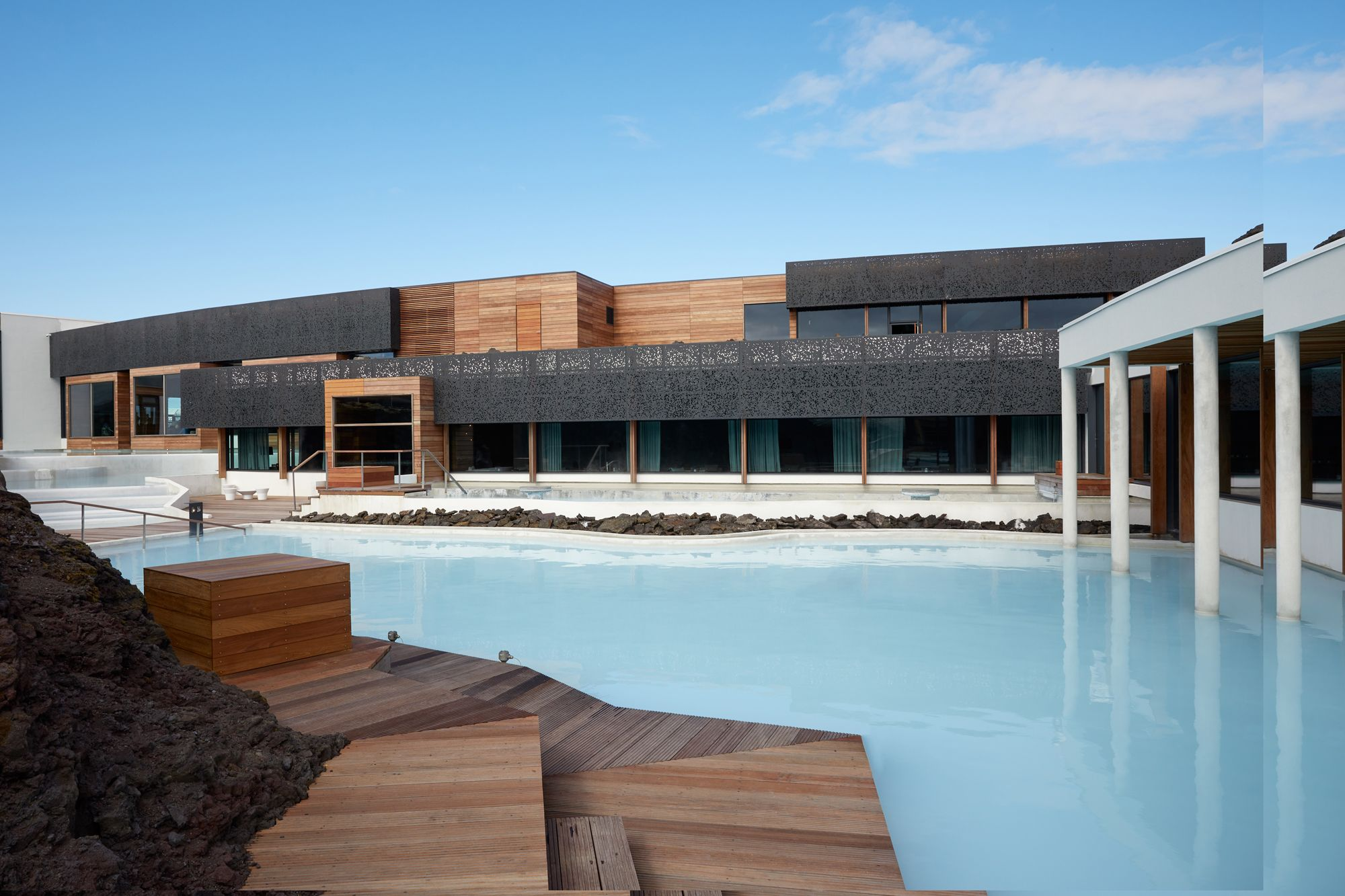 Inside The Retreat At Blue Lagoon Iceland Blue Lagoon S