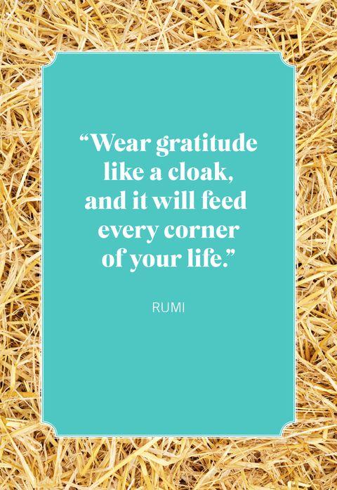 thanksgiving quotes rumi