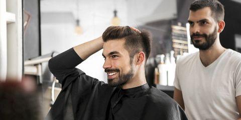 Hair, Facial hair, Beard, Hairstyle, Eyebrow, Barber, Forehead, Hairdresser, Chin, Cheek,