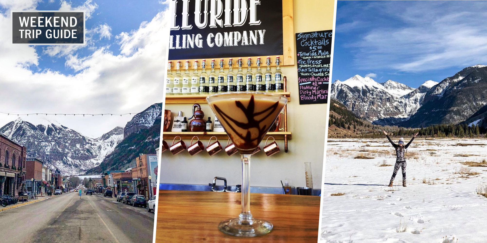 weekend trip guide where to stay eat and drink in telluride colorado weekend trip guide where to stay eat
