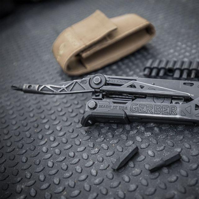 a black multi tool