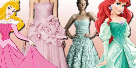 timeless design 6de17 f9127 Principesse Disney: 30 vestiti delle eroine riprodotti dal vivo