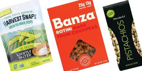 Healthy snacks nutritionists love harvest snaps banza pasta wonderful pistachios