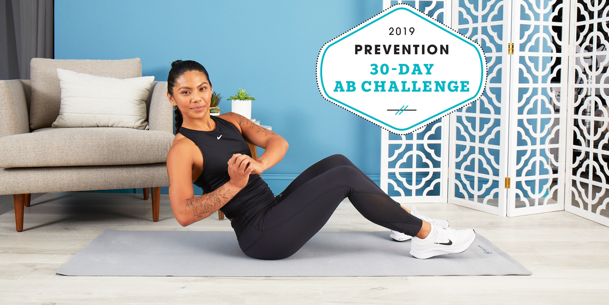Our 30-Day Ab Challenge Will Blast Belly Fat and Give You a Stronger Core in 4 Weeks