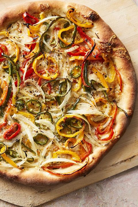 30 minute dinners hot pepper and onion pizza