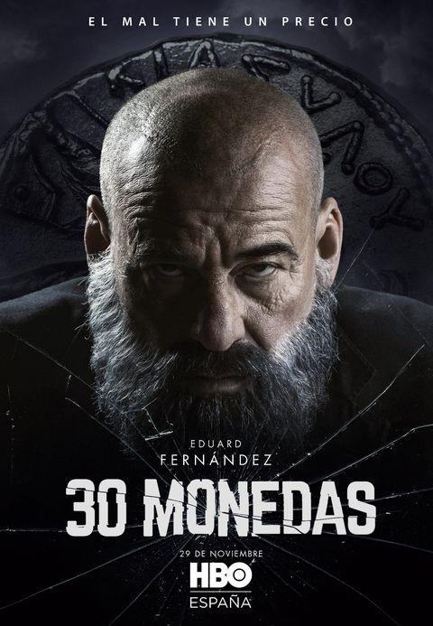 """eduard fernández en """"30 monedas"""""""