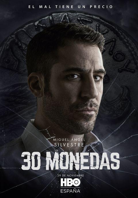 """miguel Ángel silvestre en """"30 monedas"""""""