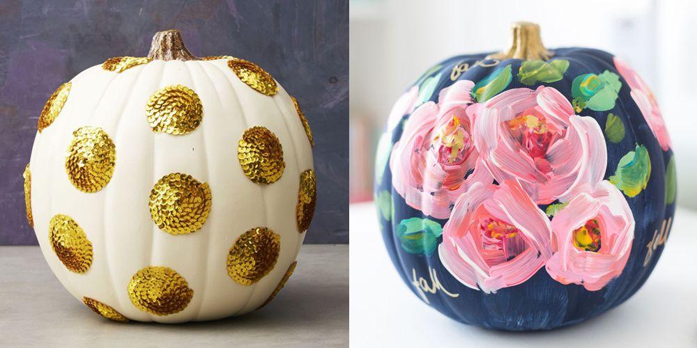 095f388e5 30+ Pumpkin Painting Ideas - Painted Pumpkins for Halloween 2018