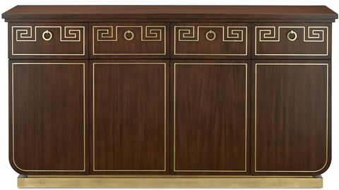 currey and co sideboard high point   elle decor