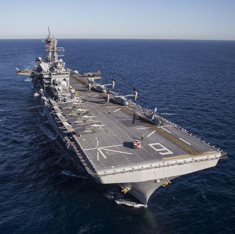USS America's Test: F-35 Flight Operations