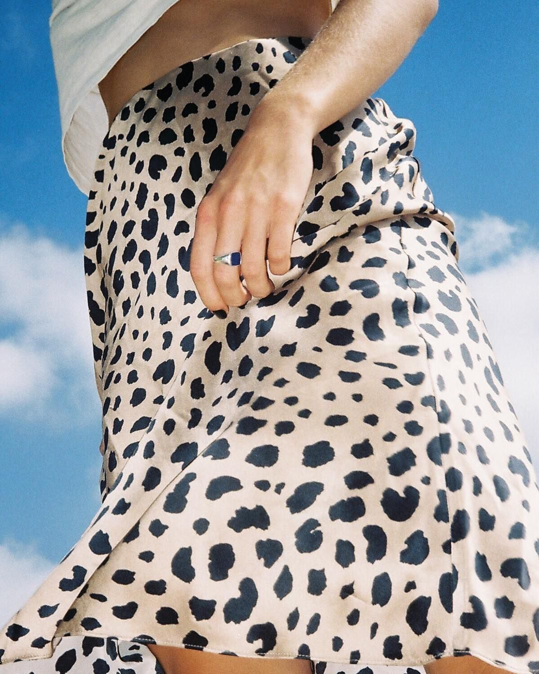 The Mastermind Behind Leopard Midi Skirt Talks the Fashion Piece of the Summer