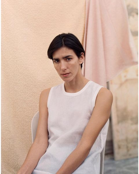 White, Shoulder, Clothing, Dress, Neck, Beauty, Pink, Joint, Fashion, Outerwear,