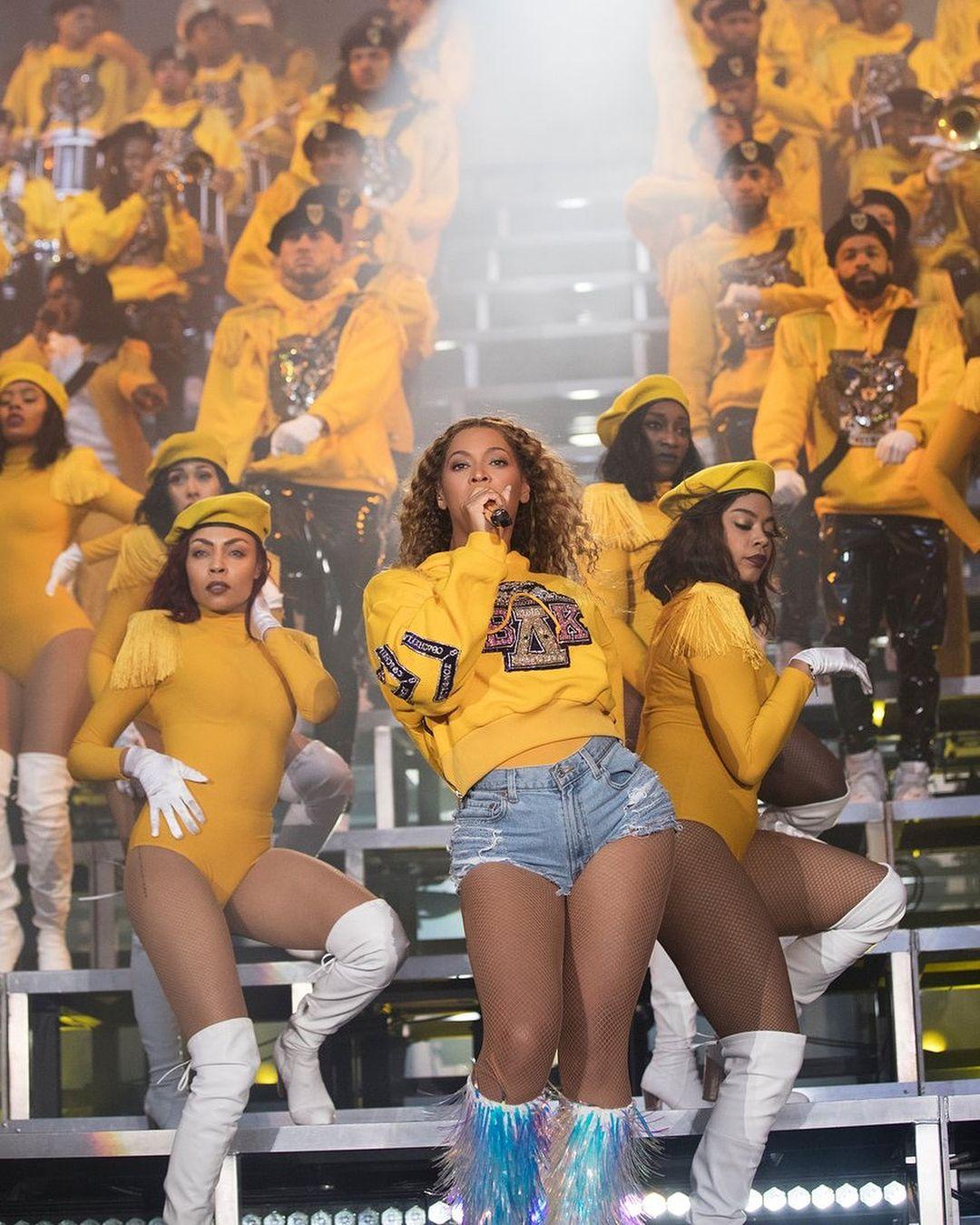 碧昂絲,Beyoncé ,Coachella ,表演造型