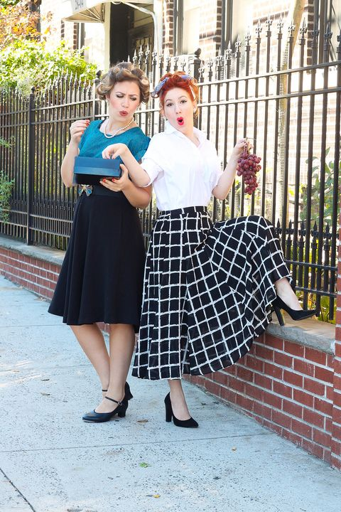 Best Friend Halloween Costumes - Lucy & Ethel