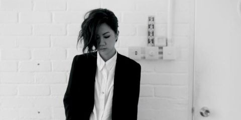 Photograph, White, Black, Standing, Snapshot, Black-and-white, Suit, Formal wear, Photography, Monochrome,