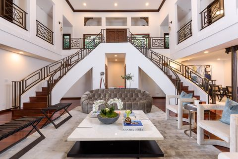 Property, Building, Interior design, Stairs, Room, Ceiling, Living room, Real estate, House, Home,