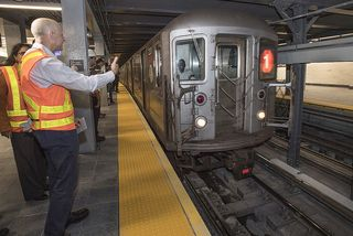 new subway train wtc