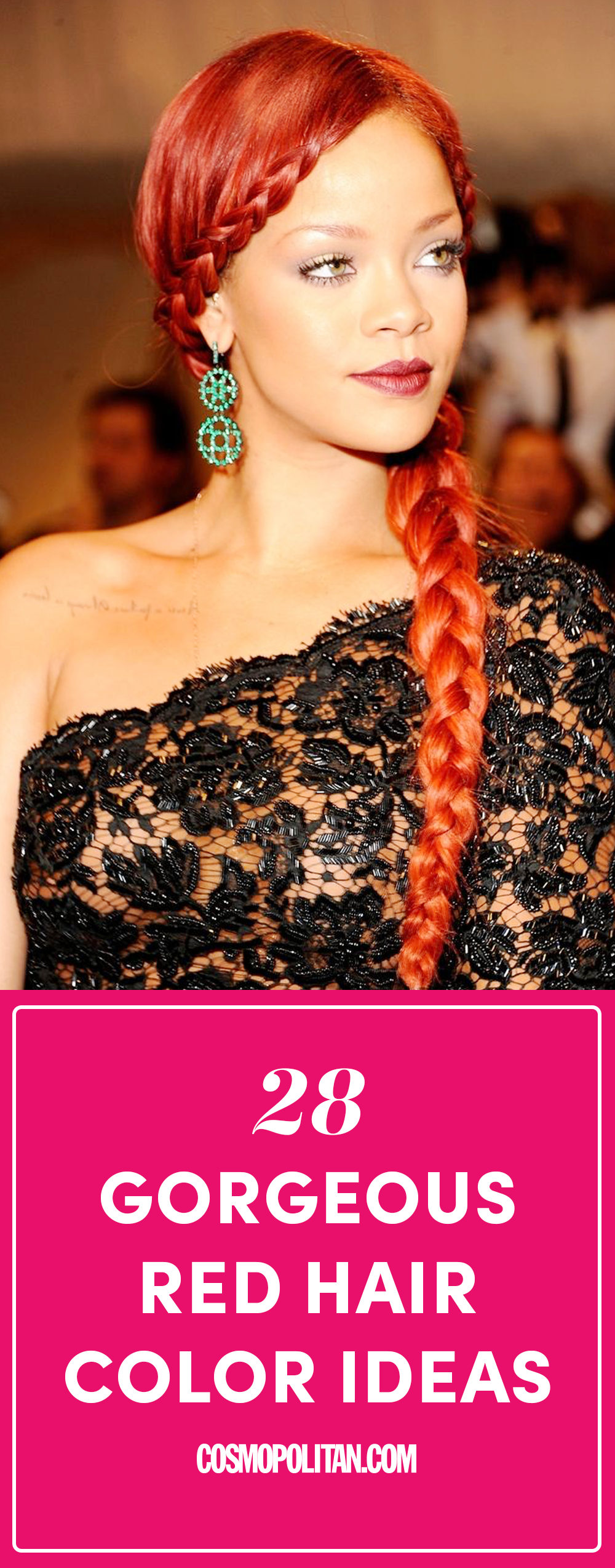 28 Best Red Hair Color Ideas Trendy Red Hair Shades From Celebrities