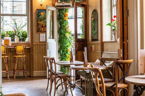 Sunday Roast atTheOrange in Pimlico