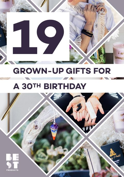 30th birthday gifts best 2018