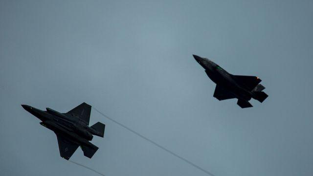 Welp, Lightning Just Struck Two F-35 Lightnings