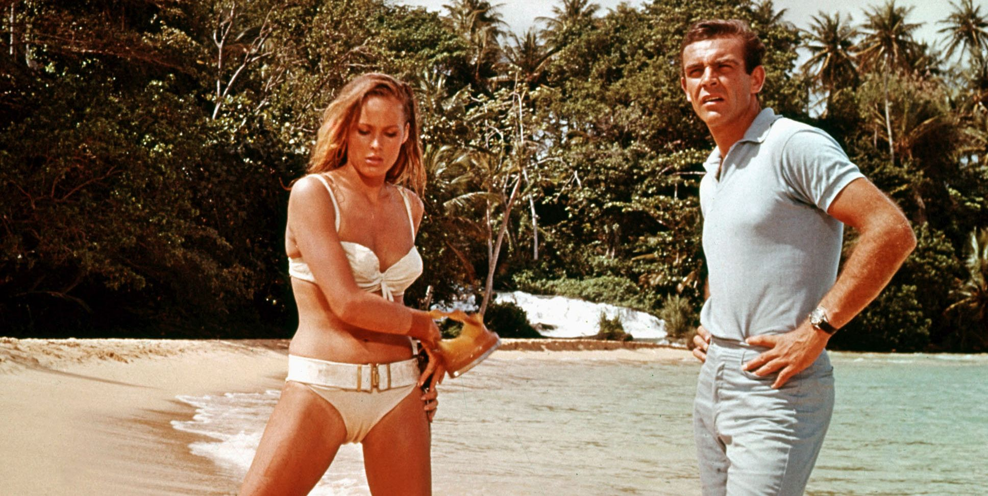 Judging by these photos, George Lazenby had the best time when the camera weren't rolling.
