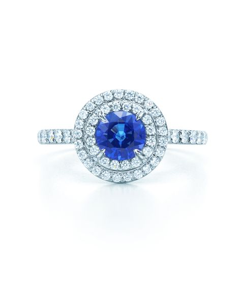tiffany  co sapphire ring