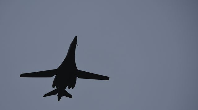 b 1 bomber, norway, air force