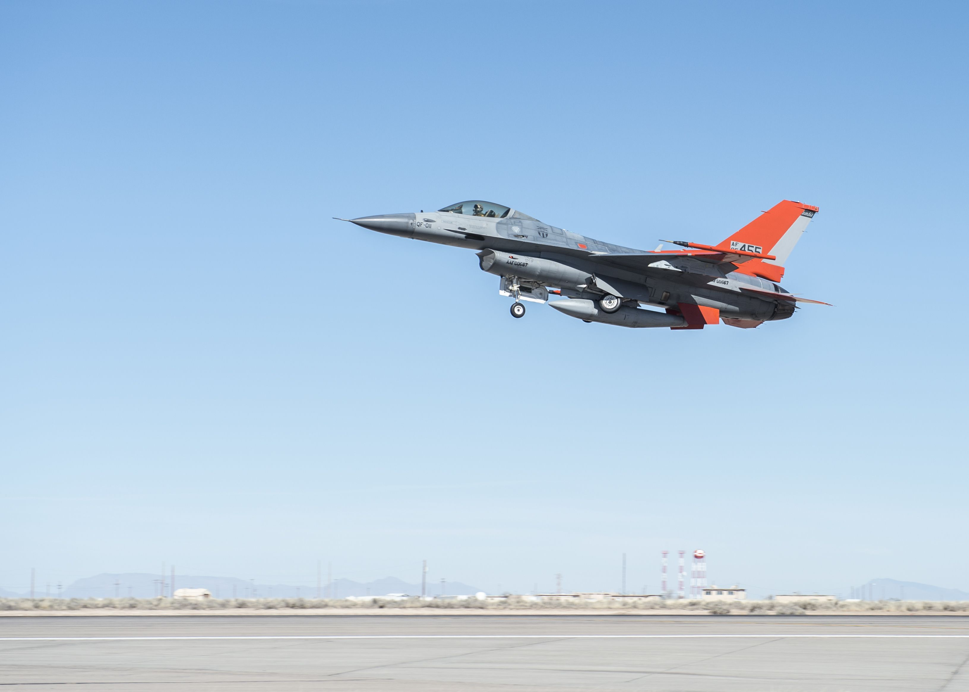 How the U.S. Air Force Turns an F-16 Fighter Into a Drone