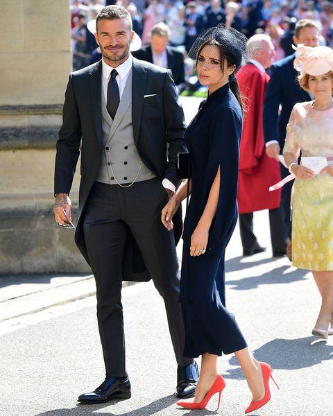 英國皇室婚禮,婚禮來賓穿搭,貝克漢,維多利亞貝克漢