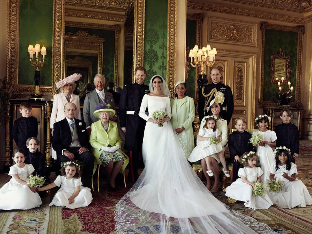 哈利 梅根 英國皇室婚禮婚紗照