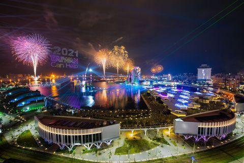 2021國慶煙火在高雄!睽違20年重磅回歸,雙十連假就去港都看絢爛煙花