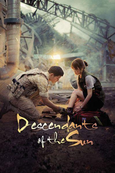 descendants of the sun promotional poster