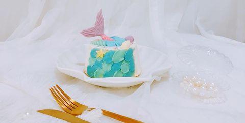 人魚慕斯蛋糕
