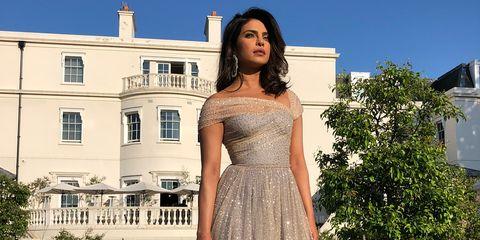 Priyanka Chopra Royal Wedding Evening Reception