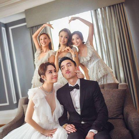 阿嬌,鍾欣桐,結婚,婚禮,伴娘,容祖兒,阿S,蔡卓妍