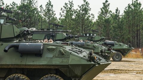 5-73th CAV Live-Fire Training Exercise