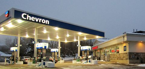 Filling station, Building, Gasoline, Fuel, Business, Gas, Outlet store, Organization,