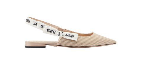 Footwear, Shoe, Beige, Plimsoll shoe, Slingback,