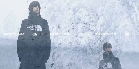 Outerwear, Font, Black hair, Photography,