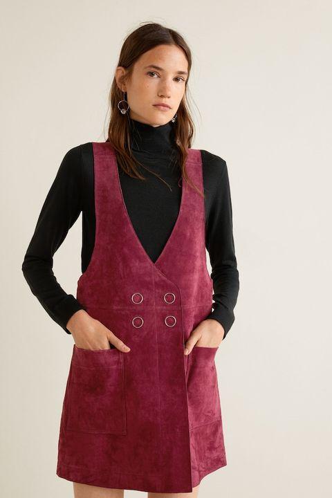 Clothing, Outerwear, Formal wear, Purple, Maroon, Sleeve, Magenta, Dress, Overcoat, Suit,