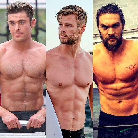 ¿qué actor sale más sin camiseta en sus películas