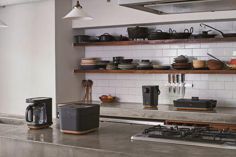 顏值小家電!日本象印 stan 廚房家電系列,霧面黑和仿原木設計好療癒