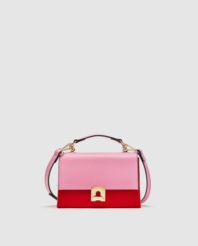 Handbag, Bag, Pink, Magenta, Fashion accessory, Shoulder bag, Violet, Satchel, Material property, Leather,