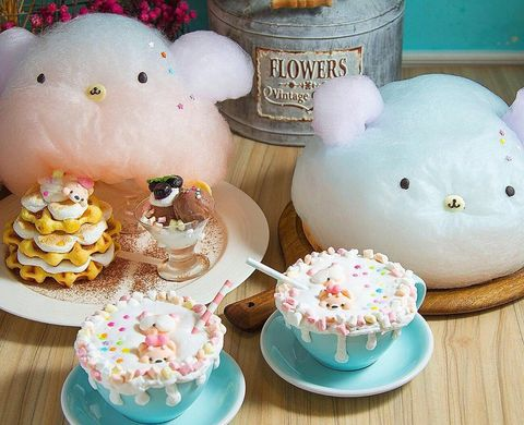 Food, Teacup, Sweetness, Tableware, Baking, Comfort food, Sugar cake, Cake decorating, Teddy bear, Dessert,