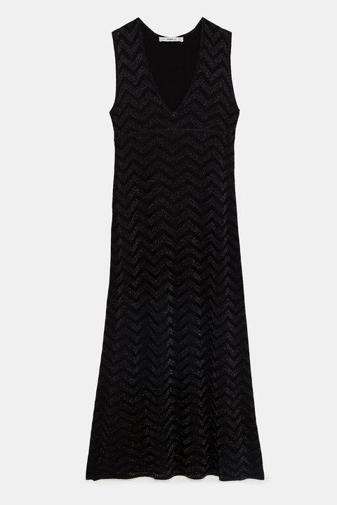Black sequin dresses