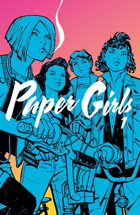 Paper Girls front cover
