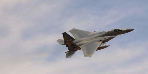 Oregon National Guard F-15.