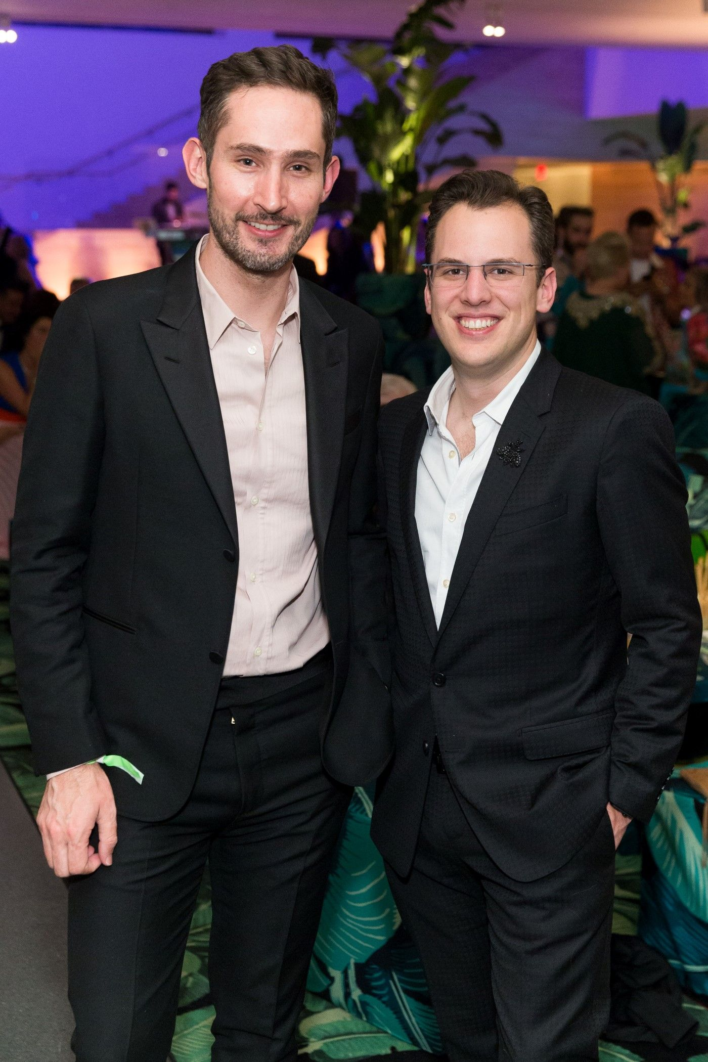 Instagram's Kevin Systrom and Mike Krieger